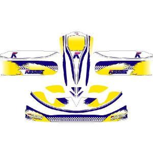 レーシングカート用 カウルステッカー M4用K仕様2 特注品|imagine-style