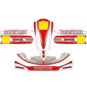 レーシングカート用 カウルステッカー M4用TONY仕様1 特注品|imagine-style