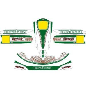 レーシングカート用 カウルステッカー M4用TONY仕様2 特注品|imagine-style