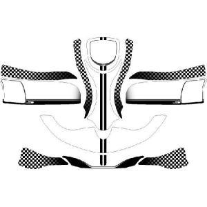 レーシングカート用 カウルステッカー mac用-09-CH-1 特注品|imagine-style
