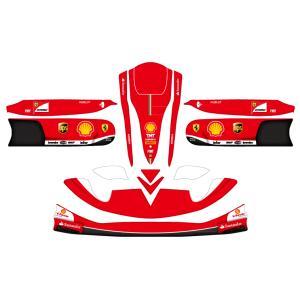 レーシングカート用 カウルステッカー M4用 ferrari2013仕様 特注品|imagine-style