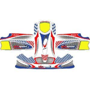 レーシングカート用 カウルステッカー UNICO用 Vanspeed 特注品|imagine-style