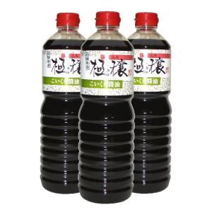 こいくち醤油 極穣 3本箱入|imaijozo