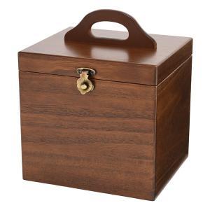 【安い】木製コスメティックボックス 収納ケース 日本製 メイクボックス 017-512 ブラウン(514743)|imajin
