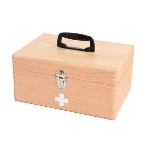 【安い】木製救急箱 日本製 048-300 ナチュラル(514745)|imajin
