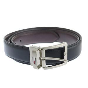 【安い】トミー ヒルフィガー TOMMY HILFIGER 08-4841 メンズ ベルト 08X015BK-B ブラック(556121)|imajin
