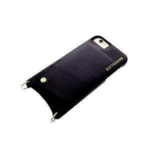 【安い】BANDOLIER バンドリヤー スマホケース iPhone6/6S/7/8対応 CASE  レディース 10EMM1001-BLKGLD 2900-8 エマ EMMA ゴールド ブラック(565016)|imajin