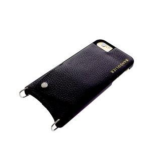 【安い】BANDOLIER バンドリヤー スマホケース iPhone6/6S/7/8対応 CASE  レディース 10EMM1001-BLKPEW エマ EMMA ピューター ブラック(565017)|imajin