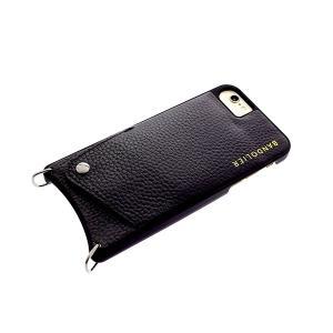 【安い】BANDOLIER バンドリヤー スマホケース iPhone6/6S/7/8対応 CASE  レディース 10SAR1001-BLKPEW サラ SARAH  スタッズ ピューター ブラック(565020)|imajin
