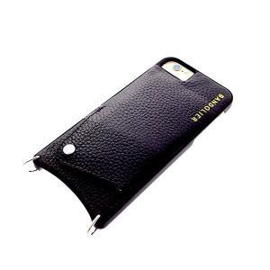 【安い】BANDOLIER バンドリヤー スマホケース iPhone6/6S/7/8対応 CASE  レディース 10SAR1001-BLKSIL 2013-8 サラ SARAH スタッズ  シルバー ブラック(565021)|imajin