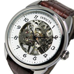 【送料無料】インヴィクタ INVICTA 手巻き メンズ 腕時計 17187 ホワイト(510302)|imajin