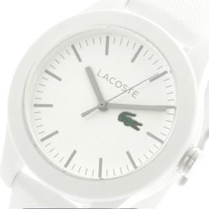 【送料無料】ラコステ LACOSTE  クオーツ レディース 腕時計 2000954 ホワイト(552937)|imajin
