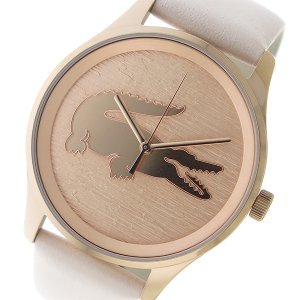 【送料無料】ラコステ LACOSTE クオーツ レディース 腕時計 2000997 ピンクゴールド(555690)|imajin
