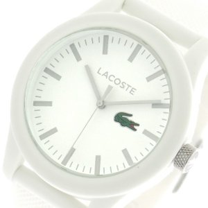 【送料無料】ラコステ LACOSTE  クオーツ メンズ 腕時計 2010762 ホワイト(552943)|imajin
