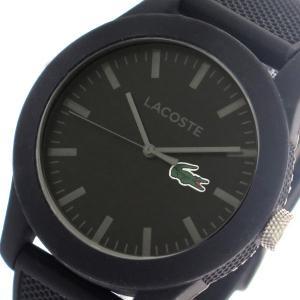 【送料無料】ラコステ LACOSTE クオーツ メンズ 腕時計 2010766 ブラック(552946)|imajin