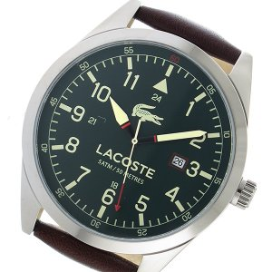 【送料無料】ラコステ LACOSTE クオーツ メンズ 腕時計 2010781 カーキ(556029)|imajin