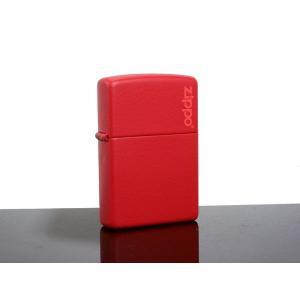 【安い】ジッポ ZIPPO ライター レッドマット 233ZL(13319)|imajin