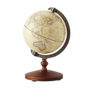 【安い】Interio Globe Collection クラシック地球儀S デザイン文具 5インチ 331-100(508286)|imajin