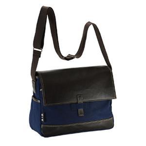 【安い】鞄の國 帆布シリーズ メンズ ショルダーバッグ 33637-3H ネイビー(554388)|imajin