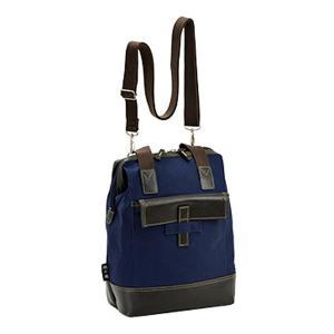 【安い】鞄の國 帆布シリーズ メンズ リュック バックパック 33675-3H ネイビー(554389) imajin