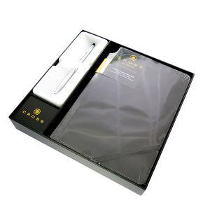 【安い】クロス CROSS ペン ノートブック付き メンズ レディース 3502-1M ギフトボックス シルバー ブラック(563040)|imajin