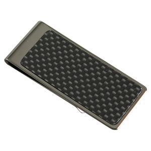 【安い】マネークリップ カーボン BK メンズ 4902558603763 ブラック(551730)|imajin