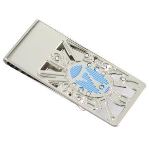 【安い】マネークリップ ダイヤル7 SKBL メンズ 4902558660032 シルバー×ブルー(551708)|imajin
