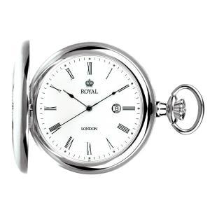 【安い】ロイヤル ロンドン ROYAL LONDON クオーツ 懐中時計 ポケットウォッチ 90001-01 シルバー(532056) imajin