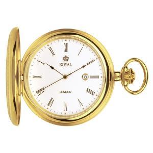 【安い】ロイヤル ロンドン ROYAL LONDON クオーツ 懐中時計 ポケットウォッチ 90001-02 ゴールド(532057) imajin