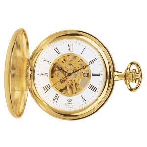 【安い】ロイヤル ロンドン ROYAL LONDON 手巻き 懐中時計 ポケットウォッチ 90005-02 ゴールド(532059) imajin
