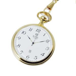 【安い】ロイヤル ロンドン ROYAL LONDON クオーツ 懐中時計 90015-02 ゴールド 国内正規(503450) imajin