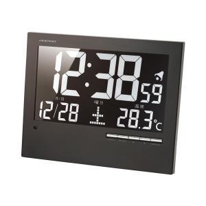 【安い】アデッソ ADESSO ウォール電波クロック デジタル 置き時計 AK-62 ブラック(511412) imajin