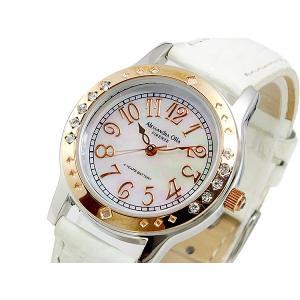 【安い】アレッサンドラ オーラ ALESSANDRA OLLA クオーツ レディース 腕時計 AO-1750-WH(273955)|imajin