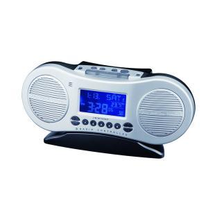 【安い】アデッソ ADESSO AM/FMラジオ電波時計 デジタル 置き時計 C-885 シルバー(511373) imajin