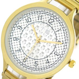 【安い】千鶴 チヅル 腕時計 レディース CDW002-002 クォーツ シルバー ゴールド(560585)|imajin