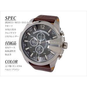 【送料無料】ディーゼル DIESEL クオーツ メンズ クロノ 腕時計 DZ4290 ガンメタル(274824)|imajin|03