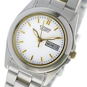 【安い】シチズン CITIZEN クオーツ レディース 腕時計 EQ0564-59A ホワイト(556737)|imajin