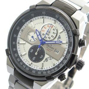 【送料無料】オリエント ORIENT 腕時計 メンズ FTT0J003W0 クォーツ ホワイト シルバー(564211)|imajin