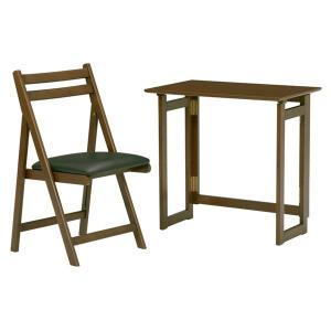 【安い】折りたたみテーブル MT-7680BR 4934257184366 ブラウン (代引き不可)(502392)|imajin