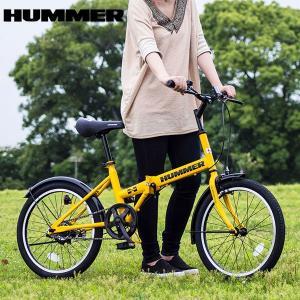 【安い】ハマー HUMMER 自転車 MG-HM20R イエロー 代引き不可(560314) imajin