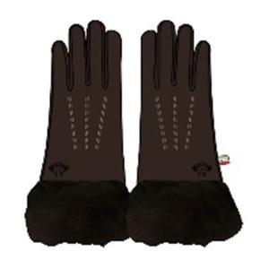 【送料無料】オロビアンコ OROBIANCO レディース 手袋 7.5 ORL-1584-DBR ダークブラウン(511989)|imajin