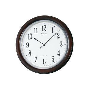 【送料無料】セイコー SEIKO 電波時計 ソーラープラス 掛け時計 SF504B(274004)