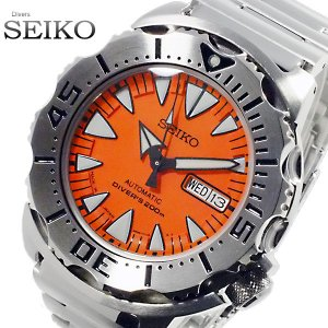 【送料無料】セイコー SEIKO スーペリア オレンジモンスター ダイバーズ 自動巻 腕時計 SRP309J1(266947)|imajin