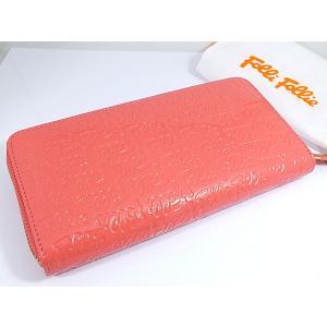 【安い】フォリフォリ FOLLIFOLLIE ラウンドファスナー 長財布 WA0L024SP-PK ピンク(239889)|imajin