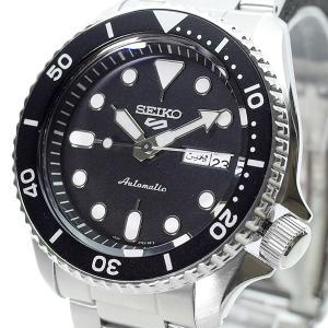 格安SALEスタート 激安セール セイコー SEIKO 腕時計 メンズ シルバー ブラック SRPD55K1 自動巻き