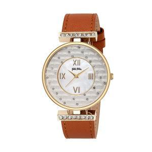 フォリフォリ FOLLI FOLLIE 腕時計 レディース WF6C046SPS-OR クォーツ ホワイト ブラウンの商品画像|ナビ