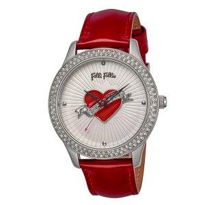 フォリフォリ FOLLI FOLLIE 腕時計 レディース WF9A017SPS-RE クォーツ オフホワイト レッドの商品画像 ナビ