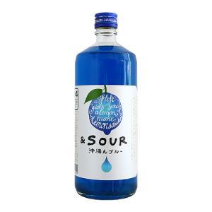 SOUR to the FUTURE 沖縄んブルー 720ml 国産レモンサワーの素 サワートゥ ザ...