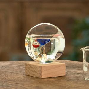 ガリレオ温度計:ドーム型ガラスフロート温度計S〜郵送可¥500|imanando