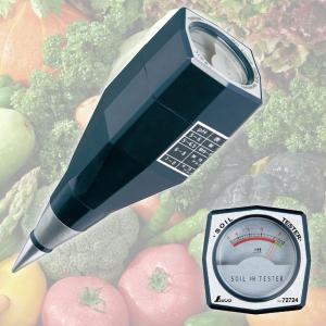 土壌酸度計:電池不要のアナログpH計72724...の関連商品2